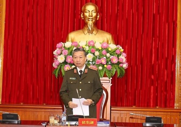 Bộ công an,bộ trưởng Tô Lâm,Thượng tướng Tô Lâm,Phạm Minh Chính,phê bình,tự phê bình