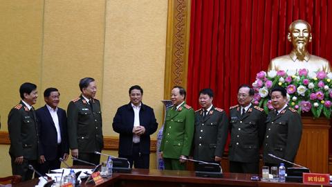 Đảng ủy Công an TƯ kiểm điểm, tự phê bình và phê bình năm 2017
