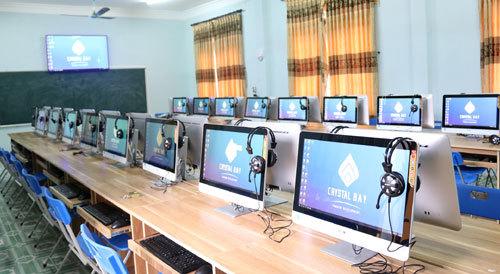 Những phòng máy tính trong mơ của học sinh tỉnh nghèo