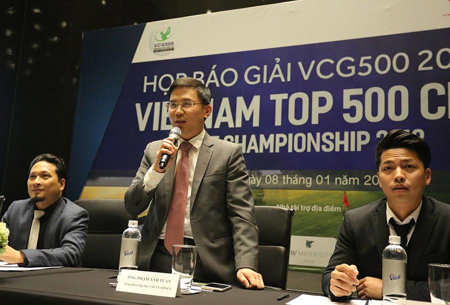 Công bố giải golf Việt Nam Top 500 CEO Championship- VCG 500 2018