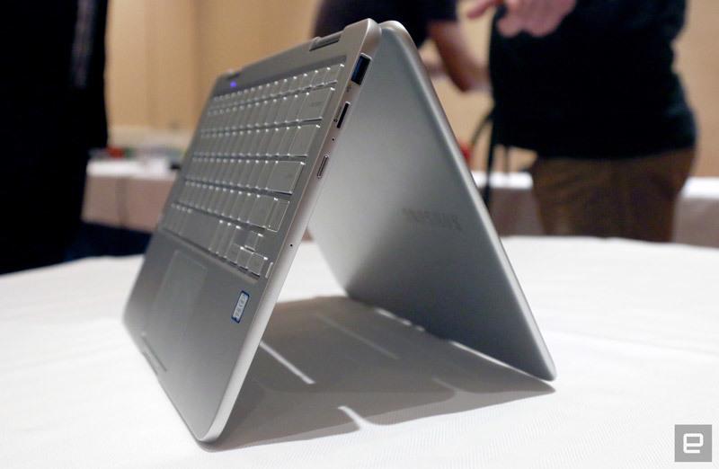 Samsung ra mắt laptop lai Galaxy Note siêu nhẹ