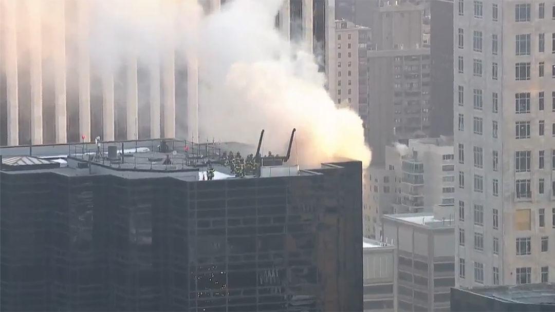 Tháp Trump ở New York bị cháy