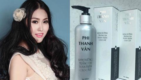 Công ty mỹ phẩm Phi Thanh Vân bị phạt 155 triệu
