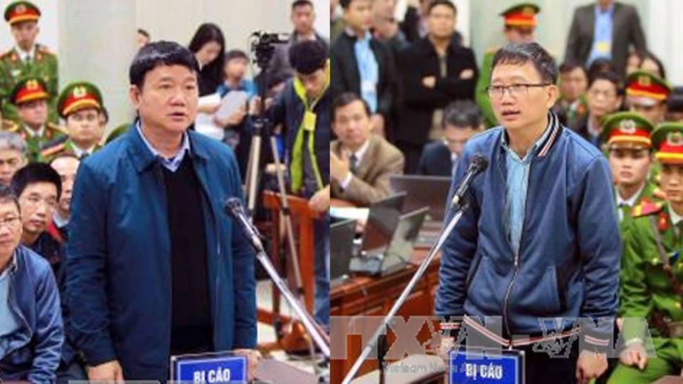 Xét xử Đinh La Thăng, Trịnh Xuân Thanh và đồng phạm