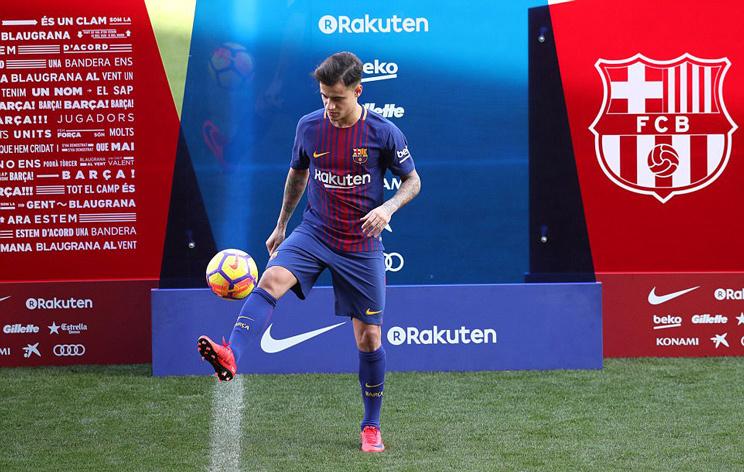 Coutinho ra mắt siêu hoành tráng ở Nou Camp