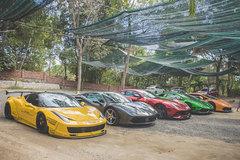 Dàn siêu xe chục tỷ của 'Cường đô la và những người bạn' tại TP.HCM