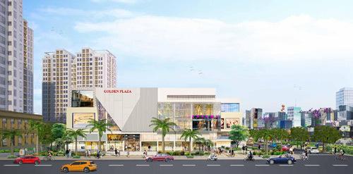 Đón đầu 'thành phố sân bay' với Golden Center City 3