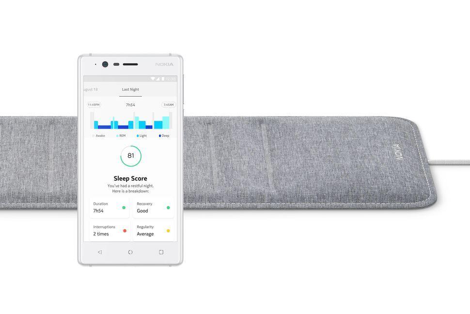 Nokia Sleep giúp cảm biến giấc ngủ, phát hiện tiếng ngáy