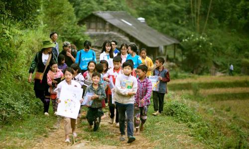 Dự án thiện nguyện đưa sách về vùng khó