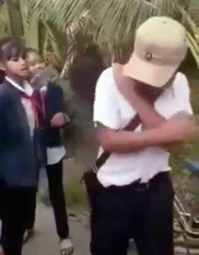 học sinh,bạo lực học đường