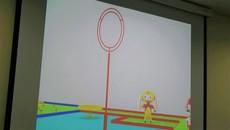 Sinh viên tranh tài lập trình robot chơi ném còn