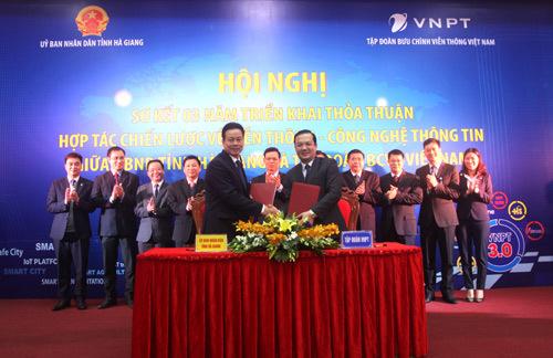 VNPT xây dựng smart city tại Hà Giang