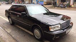 'Xe bộ trưởng' Toyota Crown đời 1996 rao bán hơn 300 triệu đồng