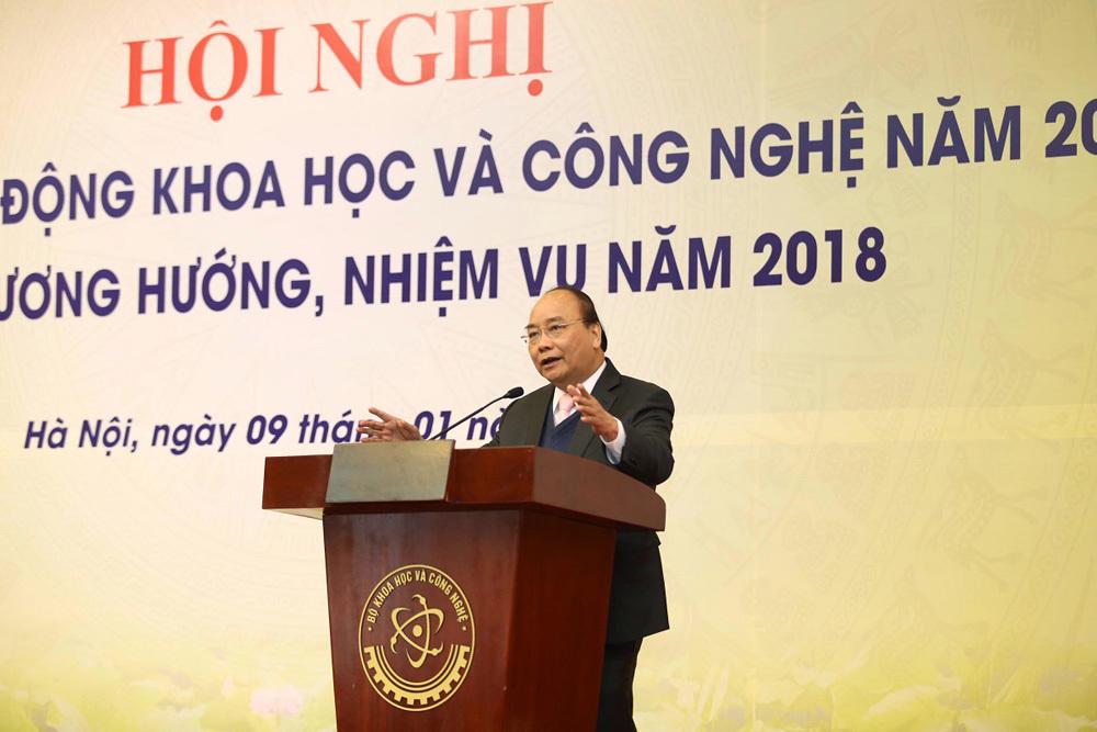 Thủ tướng Nguyễn Xuân Phúc,Khoa học kỹ thuật