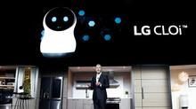 Robot thông minh khiến LG ngượng chín mặt tại CES 2018