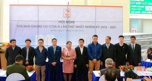 Chung cư CT2A-B Tân Tây Đô chính thức có Ban Quản trị