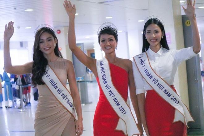 Fan nhầm lẫn Á hậu Mâu Thủy là 'Hoa hậu Quốc dân'