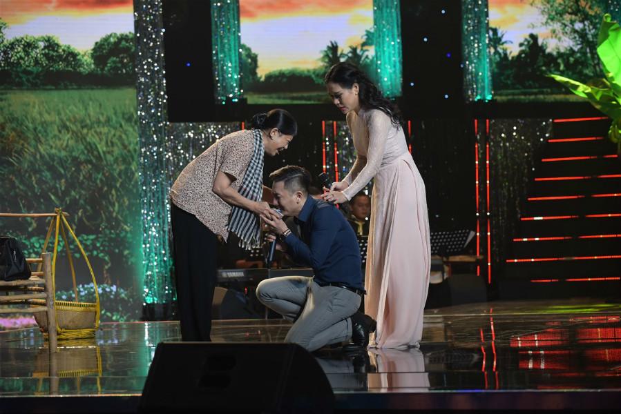 Đàm Vĩnh Hưng tôn Hồng Trang làm thần tượng của mình