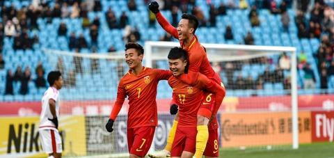 Video bàn thắng U23 Trung Quốc 3-0 U23 Oman