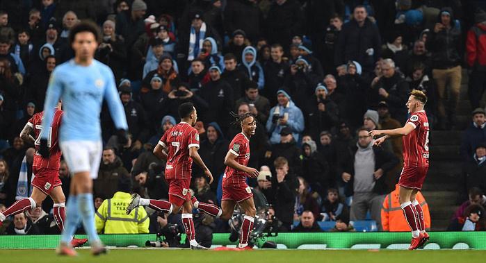 Man City,Bristol City,Cúp Liên đoàn Anh