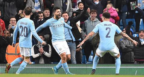 Video bàn thắng Man City 2-1 Bristol City