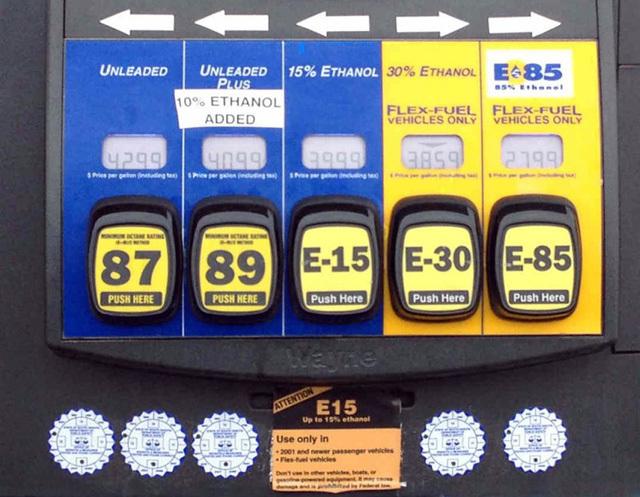 đổ xăng,tiết kiệm xăng,xăng A92,xăng A95,xăng sinh học,xăng e5
