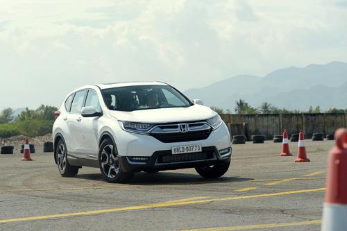 Honda CR-V thế hệ thứ 5 hoàn toàn mới giá trên 1,1 tỷ