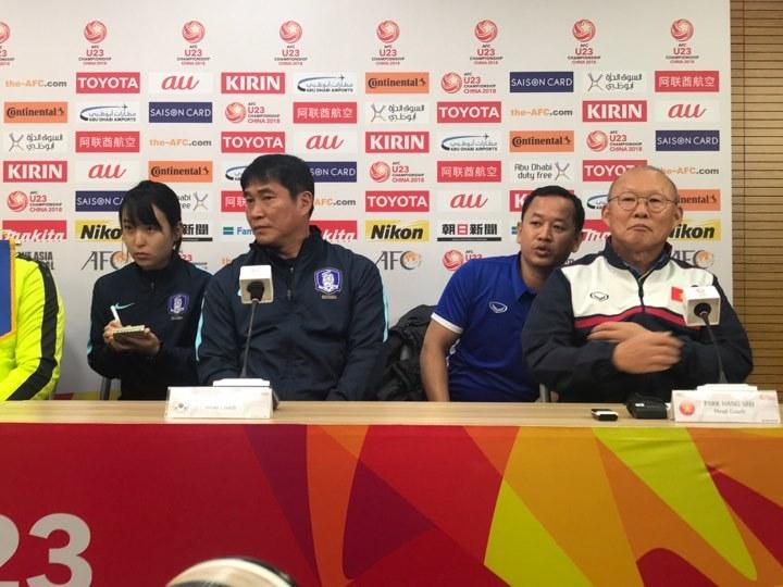 HLV U23 Hàn Quốc tuyên bố vô địch, thầy Park nói 'hãy chờ đấy!'