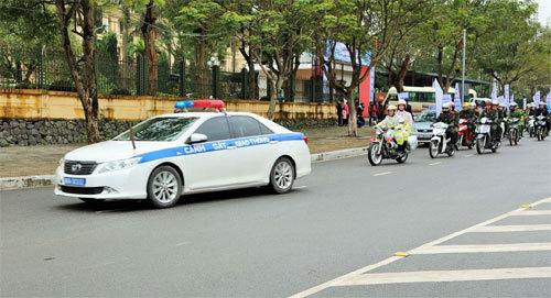 HVN phát động chiến dịch An toàn giao thông tại Vĩnh Phúc