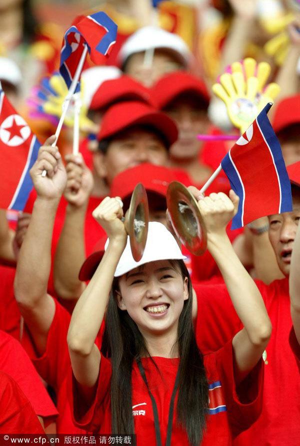 Triều Tiên,đội cổ vũ,Thế vận hội