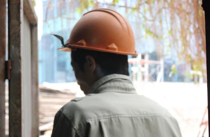 Anh Trần Văn Minh (35 tuổi, quê Phú Thọ). Ảnh: Thanh Hải