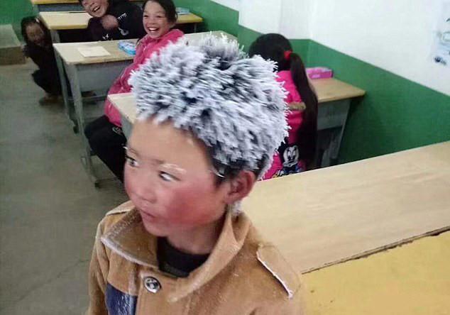 Trung Quốc,Băng tuyết,Học sinh,Mùa đông