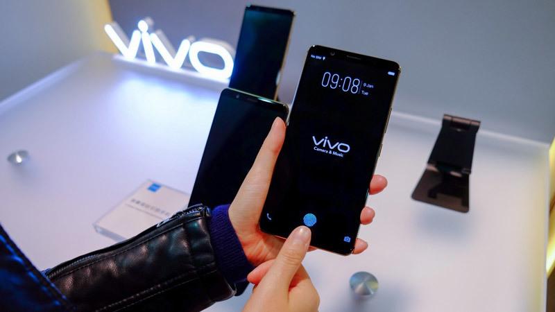 Vivo,cảm biến vân tay,smartphone