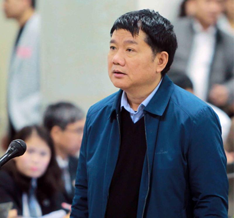 Đinh La Thăng,Trịnh Xuân Thanh,Vũ Đức Thuận,Xét xử Đinh La Thăng,xét xử Trịnh Xuân Thanh