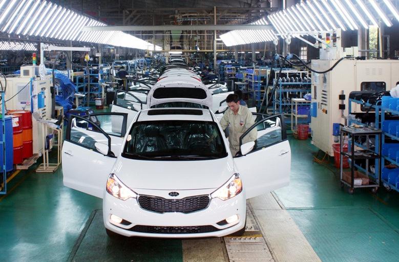 thuế tiêu thụ đặc biệt,linh kiện ô tô,lắp ráp ô tô trong nước,ô tô nhập khẩu,giá ô tô
