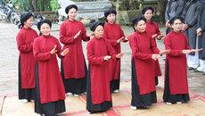 Hát Xoan được UNESCO vinh danh là sự kiện tiêu biểu