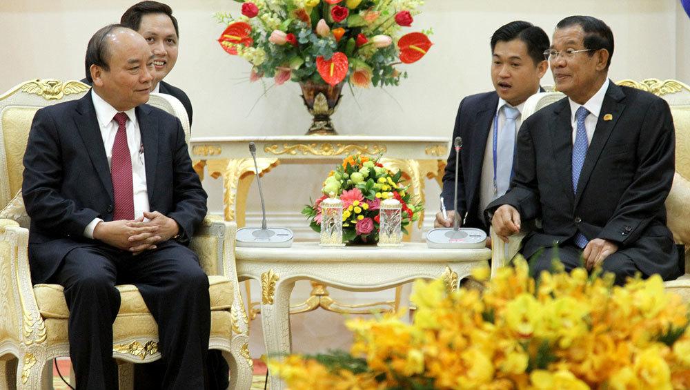 Campuchia,Thủ tướng Campuchia,Thủ tướng Hun Sen,Thủ tướng Nguyễn Xuân Phúc