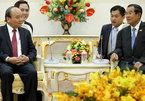 Cuộc ăn trưa làm việc giữa hai Thủ tướng VN và Campuchia