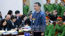 Trịnh Xuân Thanh và em trai ông Đinh La Thăng hôm nay hầu tòa