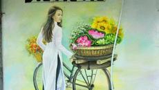 Ngỡ ngàng khu tập thể cũ ở Hà Nội 'lột xác' bằng tranh 3D