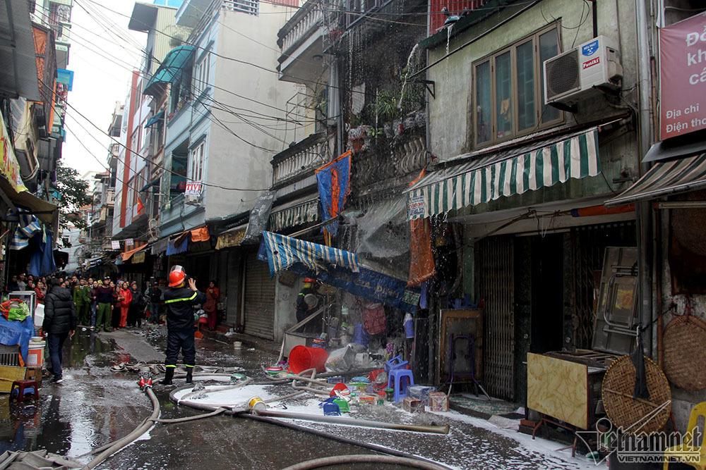 cháy,cháy nhà,hỏa hoạn,Hà Nội,cháy nhà phố Bạch Mai