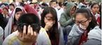 Bài giảng xúc động của thầy giáo khiến học sinh bật khóc giữa sân trường