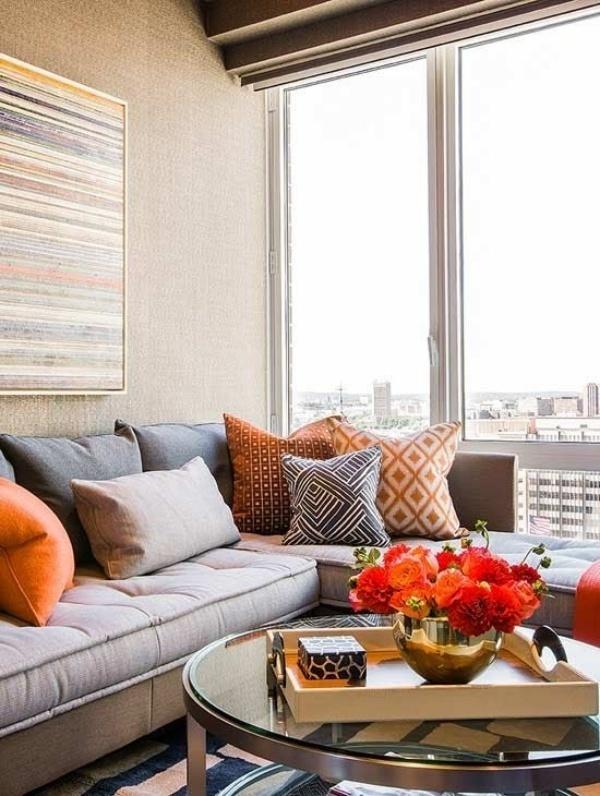 Làm ấm nhà mùa Đông nhờ sử dụng sắc cam trong trang trí nội thất - ảnh 4