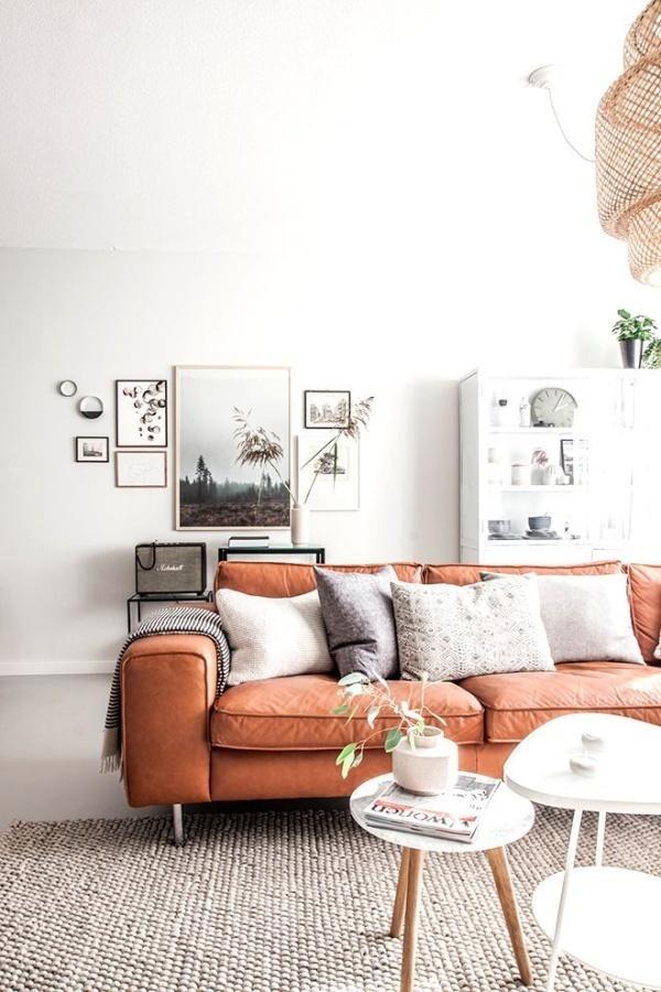 Làm ấm nhà mùa Đông nhờ sử dụng sắc cam trong trang trí nội thất - ảnh 5