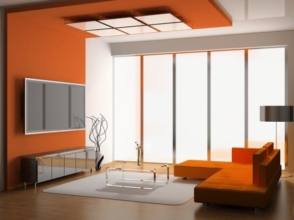 Làm ấm nhà mùa Đông nhờ sử dụng sắc cam trong trang trí nội thất - ảnh 7
