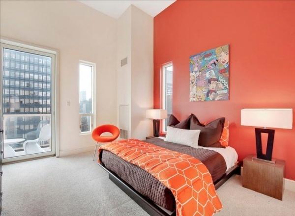 Làm ấm nhà mùa Đông nhờ sử dụng sắc cam trong trang trí nội thất - ảnh 8