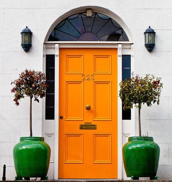 Làm ấm nhà mùa Đông nhờ sử dụng sắc cam trong trang trí nội thất - ảnh 9