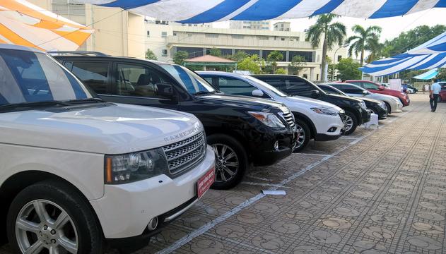 ô tô nhập khẩu,thuế nhập khẩu ô tô,ô tô giảm giá,Nghị định 116,Giá ô tô
