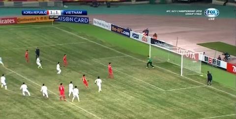 U23 Việt Nam 1-1 U23 Hàn Quốc: Tiến Dũng bắt gọn 11m