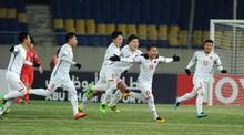 u23 viet nam 1 1 u23 han quoc tien dung bat gon 11m h2 - U23 Việt Nam tuột chiến thắng đầy tiếc nuối trước U23 Hàn Quốc
